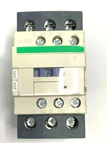 Contactor LC1D32G7 Coil 120VAC 32A AMP 50/60Hz 15KW / 400V 20HP 480V Q Guarantee