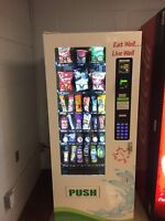 Max! Healthy Vending machine looking for a great location
