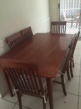 7 piece timber dining suite Marsden Logan Area Preview