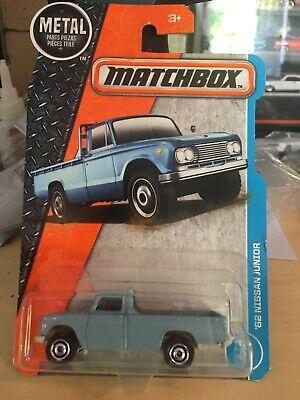 2017 Matchbox  1962 Nissan Junior  #7//125 1//64 Scale Diecast Pickup Light Blue