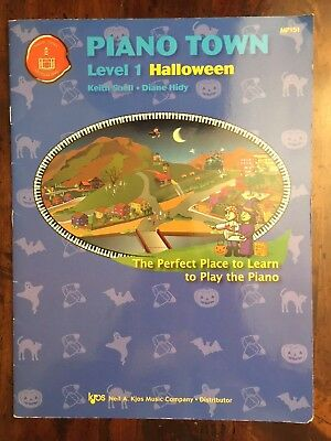 MP151 - PIANO TOWN - HALLOWEEN - 2007 LEVEL 1 *Very Good* Free shipping