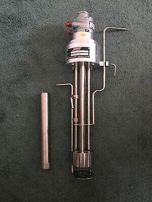 Greerco Heigh Shear Tabletop Hydraulic Mixerhomogenizer 7500 Rpm Model 1-la