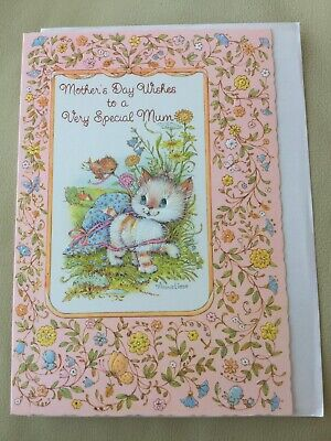 💐vintage Mothers Day Card (Mum) 💐 New 💐