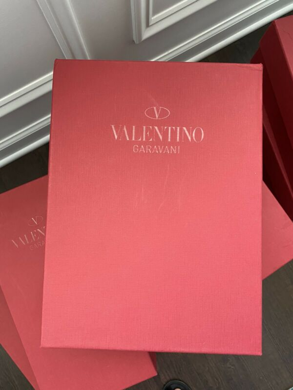 Authentic Valentino Red Empty Shoe Box Available In Many Sizes