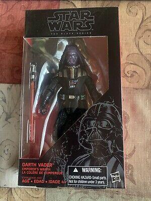 """Darth Vader Emperor's Wrath Star Wars Black Series Walgreens Exclusive 6"""""""