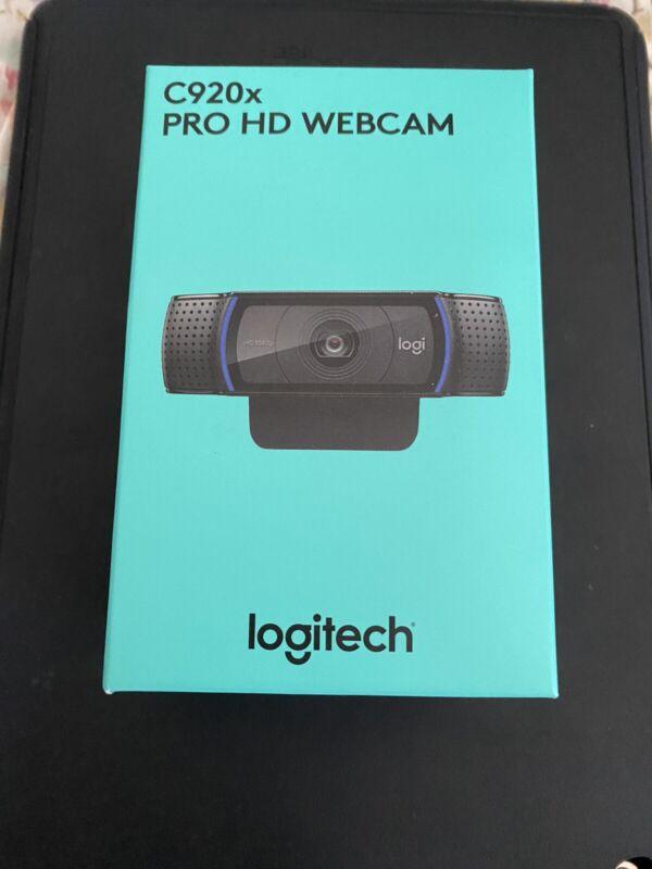 Logitech C920s Pro HD 1080p Webcam Privacy Shutter NEW IN HAND