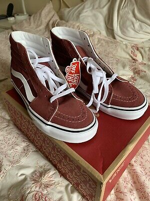 Bnib Vans Sk8 Hi Aple Butter Skateboard Shoes Size 5/38eu RRP £65