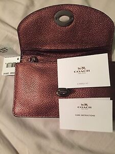 Coach leather crossbody brand new with tag