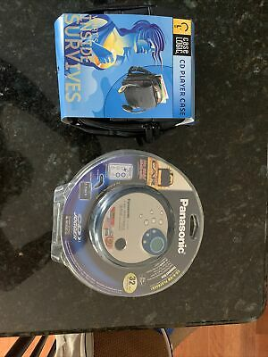 Panasonic Sealed Silver CD Jogger Portable CD Player & Carrier NEW
