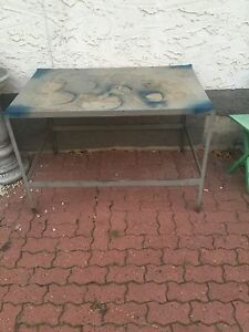 2 foot by 4 foot shop table