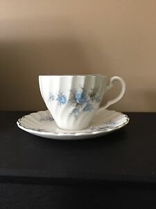 Set of 8 Ironstone vintage matching teacups