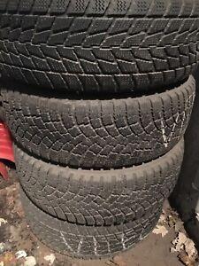 4 pneus monter 205/65R15