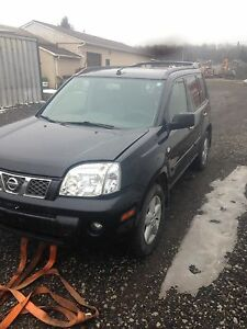 Nissan x trail part out