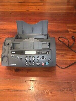 Hp 1050 Fax Thermal Ink Jet Plain Paper Faxcopier Q7278a