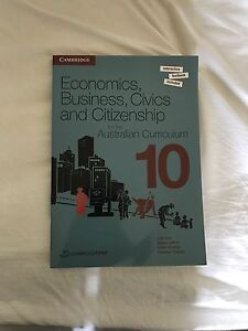 Economics, Business, Civics and Citizenship textbook YR10 (BRAND NEW) Brighton Bayside Area Preview