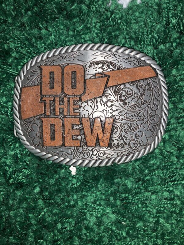 Mountain Dew Belt Buckle Limited Edition Xtreme Commentor