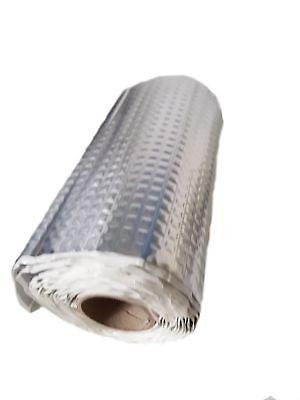 2 qm Alubutyl Dämmmatte selbstklebend Anti Dröhn Matte kein Bitum 50 x400 cm