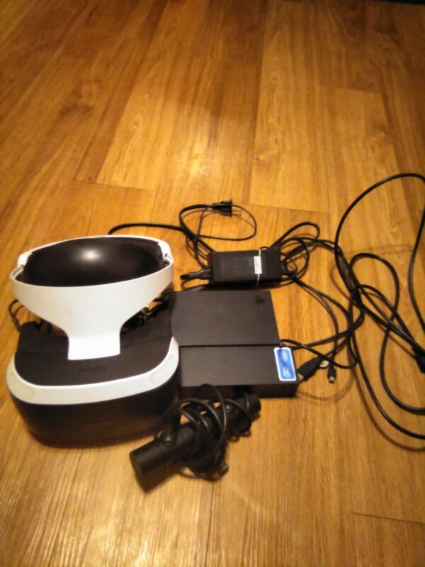 ps vr cuh-zvr1 with camera and adapter