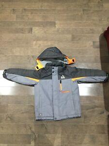 EUC winter jacket boys size 4/5 Brampton