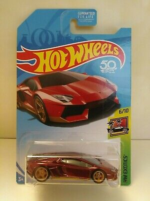 Hot Wheels, SUPER Treasure Hunt, AVENTADOR MIURA HOMAGE, 2017, NEW!