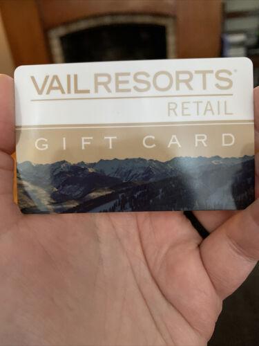 Vail Resorts 50 Retail Gift Card - $25.00