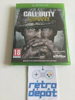Call of duty World War II / WW2 / XBOX ONE /...
