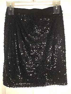 WOMEN SPARKLE TIGHT PENCIL SKIRT,MINI-RUE21-SIZE MEDIUM-STRETCH-BLACK BLING -NWT