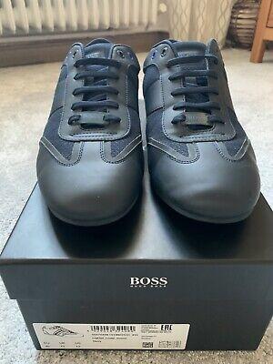 Herrenschuhe / HUGO BOSS / Sneaker Dunkel Blau  / Gr. EUR 45 UK 11 US 12