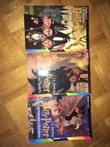 Harry Potter 3 premiers tomes