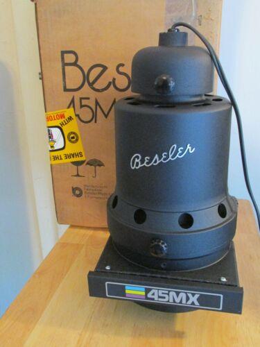 "Vintage BESELER 45MX Darkroom ENLARGER Condenser Lamp Lens 4"" x 5"" Colorhead EXC"