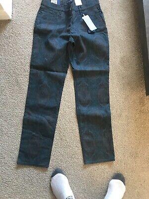 atelier gardeur quality stretch ladies Burgundy jeans Size 14