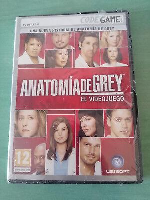 ANATOMIA DE GREY EL VIDEOJUEGO JUEGO PARA PC DVD-ROM ESPAÑOL UBISOFT nuevo...