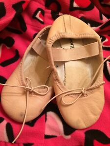 Ballet shoes girl size 12