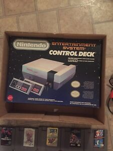 Nes complete in box with games