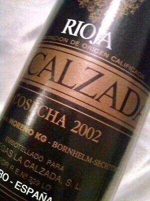 RIOJA LA CALZADA - SPANISCHER ROTWEIN - JAHRGANG 2002