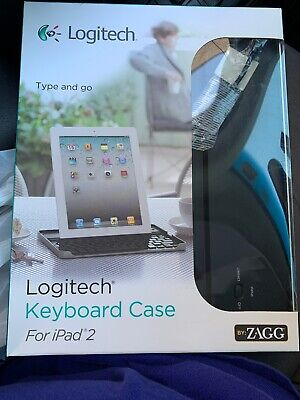 LOGITECH TYPE & Go  W/INTEGRATED KEYBOARD Case FOR iPad Air 2 & Bluetooth