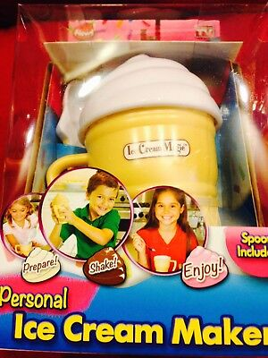 NEW  Ice Cream Maker Small Kids Toy Fun make your own ice cream maker