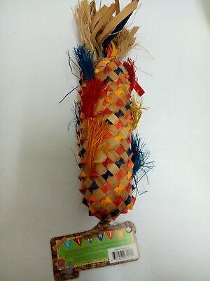 Planet Pleasures Large Pinata - Parrot Bird Toy Shreddable