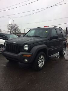 2003 Jeep Liberty Safety and E-test included