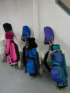 Golf club sets 3 youth sets with quality bags and carts
