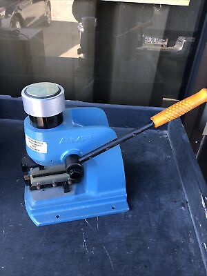 Amp 58024-1 Manual Arbor Press For Connector Cables Coaxial Jd