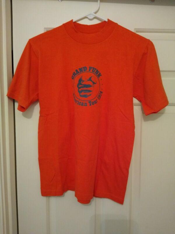 Grand Funk Railroad 1974 Tour T-shirt/Shinin