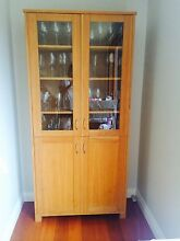 Solid Oak Cabinet North Balgowlah Manly Area Preview