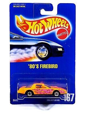 Hot Wheels '80's Firebird / 1992 / #167 / Orange / Blue Card / Brand New