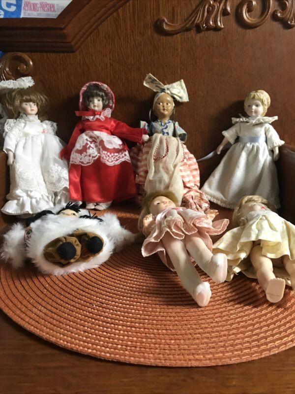 vintage dolls lot
