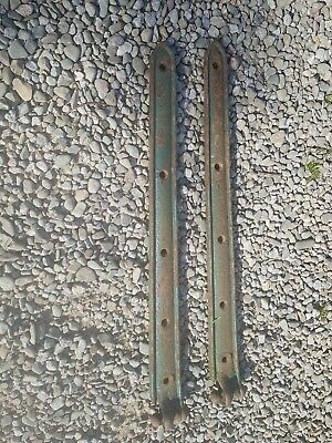 Victorian Cast Iron Stable Barn Door Hinges old antique hinges 31 1/2