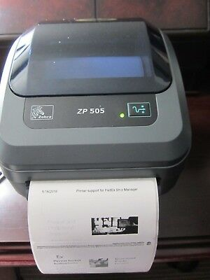 Zebra ZP 505 FedEx Label Thermal Printer USB Serial Parallel  for sale  Shipping to South Africa