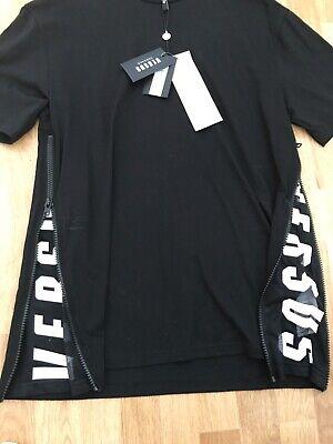 New VERSUS VERSACE black mans t-shirt,Size S