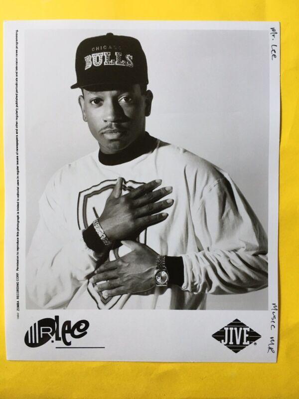 "Mr. Lee Press Photo 8x10"". Jive Records."