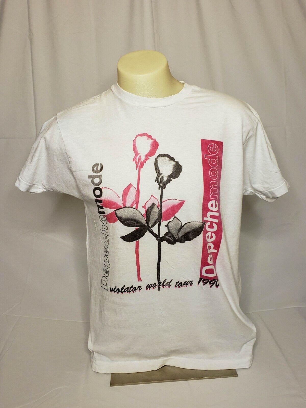 Vintage DEPECHE MODE VIOLATOR 1990 Concert Shirt XL - $129.99